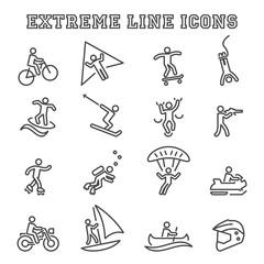 extreme line icons