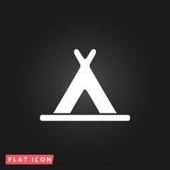 wigwam flat icon
