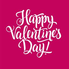 Happy Valentine Day Inscription