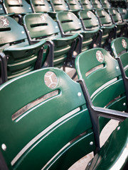 Baseball Ballpark Seats Photo