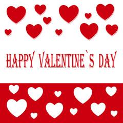 Happy Valentine's Day, holiday, inscription, love, background