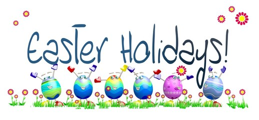 easter holiday template