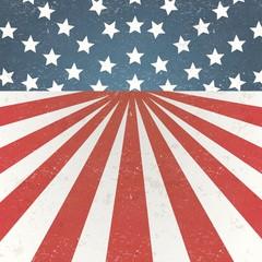 USA flag vintage background