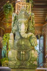 Statue of ganesha in Phitsanulok, Thailand