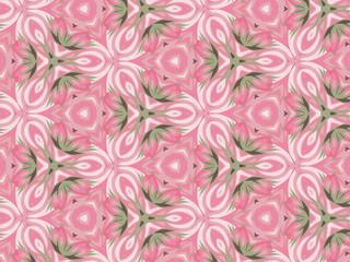 Абстрактный розовый фон с узором.