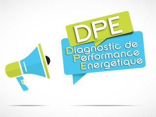 mégaphone : DPE