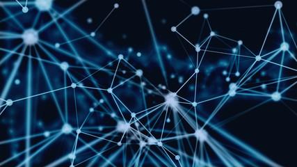 3D particles connection