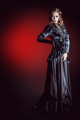 dark dark woman