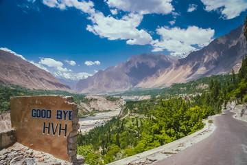 Good bye Karakorum Highway