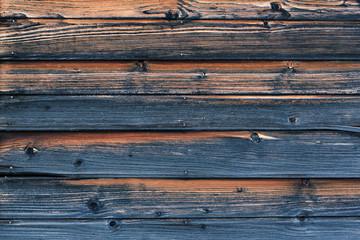 blue old wooden boards background