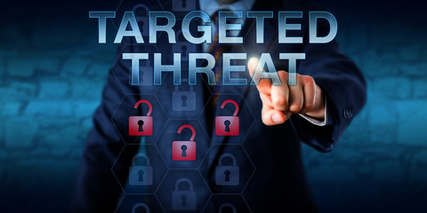 Cybercriminal Pushing TARGETED THREAT Onscreen