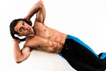 Weighted Crunch Exercise