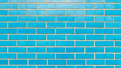 Blue Brick Wall 1