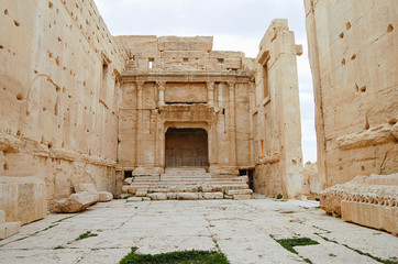 Temple Of Baalshamin (Now Destroyed) - Palmyra Ruins - Syria