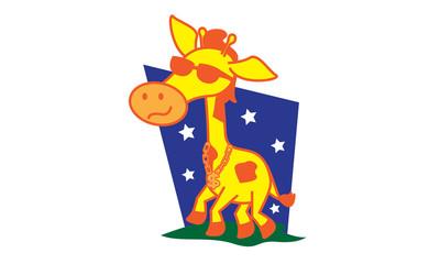 Afro Giraffe