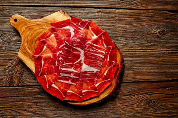 Jamon iberico han from Andalusian Spain