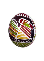 Easter egg with ornament