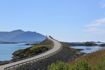 Atrlantik Road (Atlanterhavsvegen). Norway