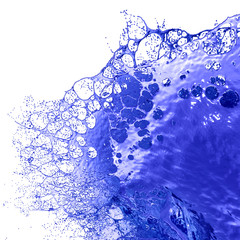 Colored Paint Splashes.