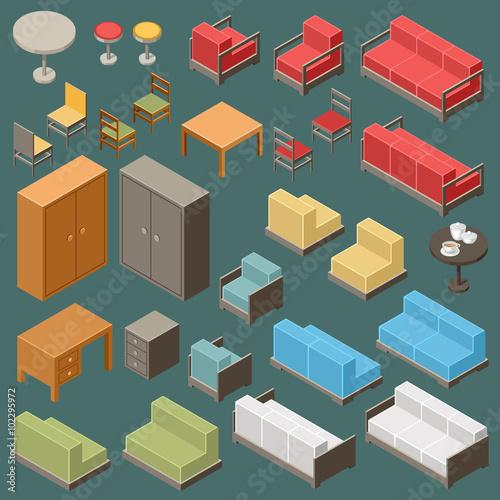 quotisometric furniture setquot stok g246rseller ve telifsiz