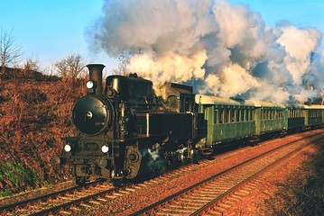 Historic steam train. Specially launched Czech old steam train trips and for traveling around the Czech Republic.