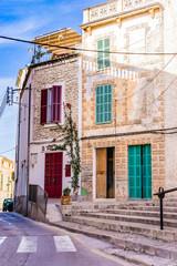 Wall Mural - Rustikale Häuser Front Mediterran Wohnen