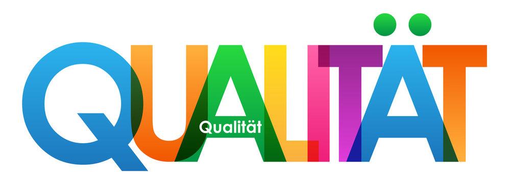 Qualität Ikone