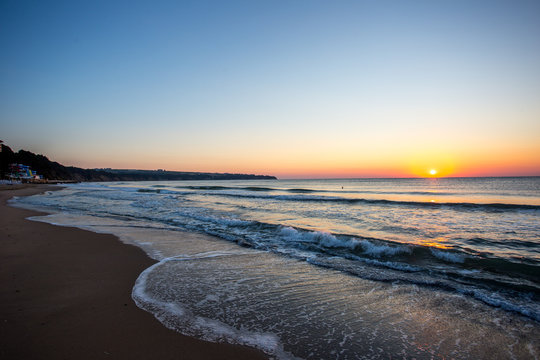 Sonnenaufgang am Traumstrand