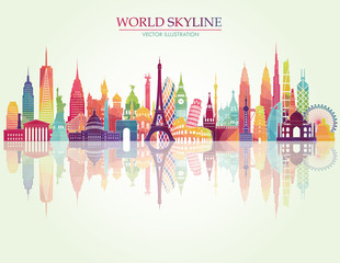 skyline. Vector illustration