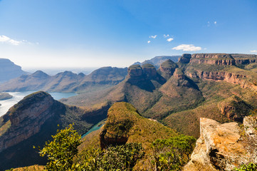 "Blyde River Canyon und ""Three Rondavels""; Südafrika"