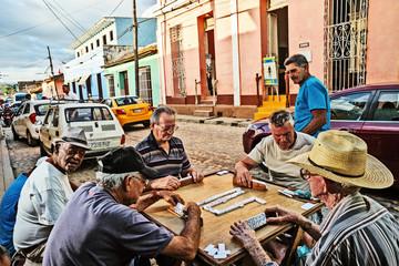 Cuba, Trinidad, Domino Players