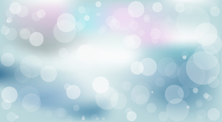 colored background with shimmering circles