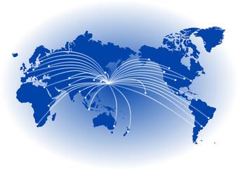 世界地図 グローバルイメージ