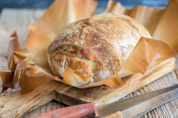 Freshly homemade bread.