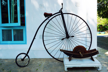 Penny-farthing or High Wheel Bicycle