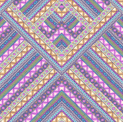 artistic chevron design ~ seamless background