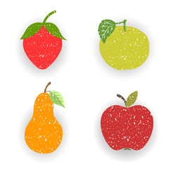 Fruits-pears and apples