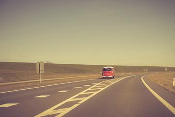 Einsame Straße