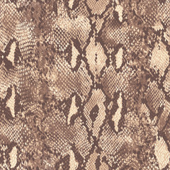 natural snake skin ~ seamless background