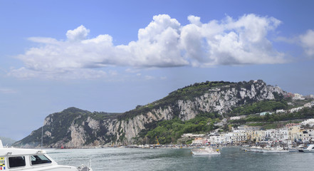 Panorama of the Isle of Capri