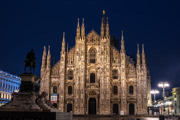 Fototapete - Milan, Italy:  Cathedral, Duomo di Milano