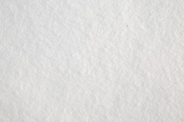 Fresh real snow texture background