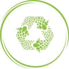 recycle symbol.
