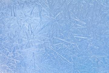 Frozen ice pattern.