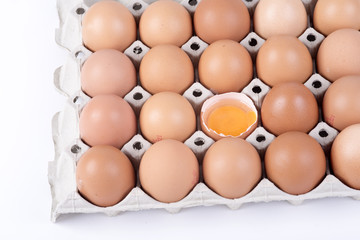 egg yolk in a container