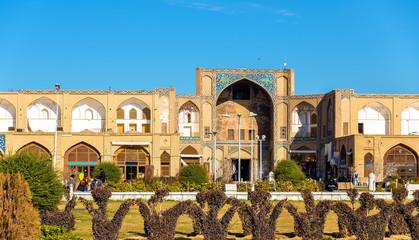Qeysarieh Portal, entrance to Bazar-е Bozorg in Esfahan