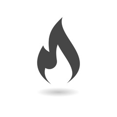 Gas Flame Icon