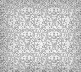 Grey wallpaper pattern