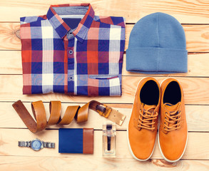 Men's casual clothes
