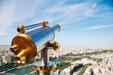 Telescope in the Eiffel Tower